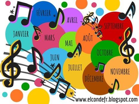 Une année en musique   Teaching FRENCH   Scoop.it
