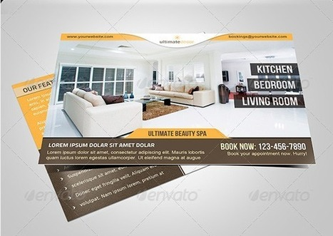 30+ Real Estate Business Card Templates | MarketingHits | Scoop.it