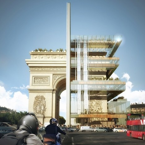 This Speculative Project Imagines A Mixed-Use Building Wrapped Around the Arc de Triomphe | The Architecture of the City | Scoop.it