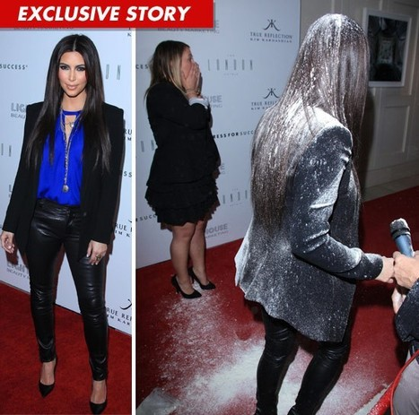 Kim Kardashian attacked when presenting her new fragrance - Toried | Johnie's Pop Culture | Scoop.it