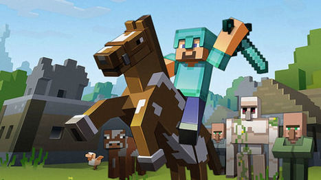Microsoft is using Minecraft to train AI and wants you to help out | Technology watch | Scoop.it