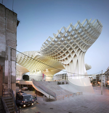 Metropol Parasol | Art & Design: Digital & Analog - and (Interior) Architecture | Scoop.it