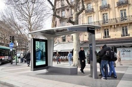 TOM, Travel On Move – La ville de Paris inaugure ses abribus intelligents | Médias sociaux et tourisme | Scoop.it