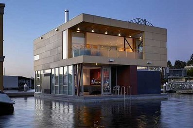 Luxury Floats: Lovely Modern Home on Seattle's Lake Union | Building(s) Homes & Cities | Scoop.it