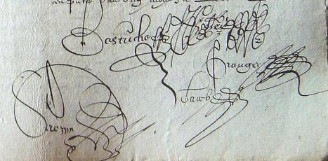 MODES de VIE aux 16e, 17e siècles » Archive du blog » Antoine Esnault et Marie Seuré sa femme vendent une obligation, Le Lion d'Angers 1623 | blog de Jobris | Scoop.it