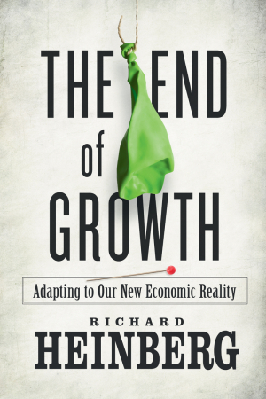 The End of Growth | Richard Heinberg | Transition Culture | Scoop.it