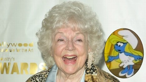 Animation World Loses Voice of Smurfette: Lucille Bliss Dies at 96 | Animation News | Scoop.it