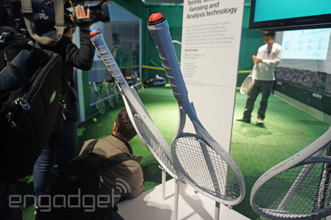Playing tennis the Sony way... with a racket sensor that analyzes your game (video) | Atomax Viewpoint | Scoop.it