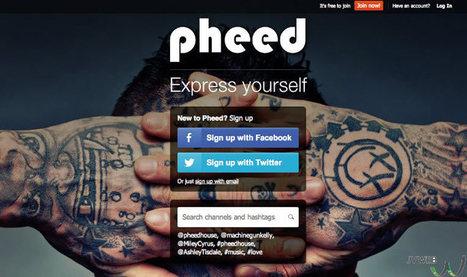 Pheed, le nouveau né des réseaux sociaux   Réseaux et médias sociaux, veille, technique et outils   Tous sur les Réseaux Sociaux   Scoop.it