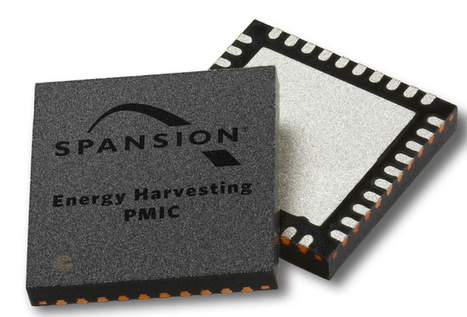 Spansion goes battery-less with tiny 'Internet of things' chips - VentureBeat | Internet of Things | Scoop.it