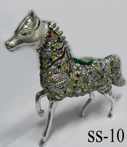 Sterling Silver Horse figurine   Indian shaily crafts   Scoop.it