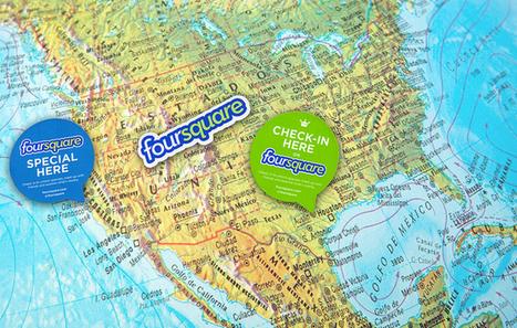 Influencia - Je Like - Foursquare débarque sur le terrain de jeu de Yelp | Geoloc | Scoop.it