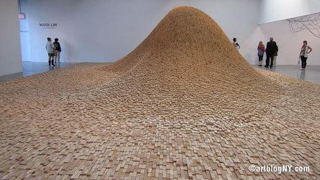 Maya Lin at Pace Wildenstein | Art Installations, Sculpture, Contemporary Art | Scoop.it
