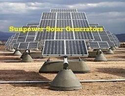 Sunpower Solar Generators | ahlijahui | Scoop.it