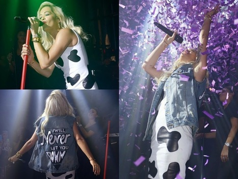 Rita Ora Wears Cow Print Dress Photos - Foto Win | Foto Win | Scoop.it