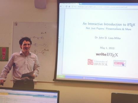Free online 'Introduction to LaTeX' course - Part 1 - writeLaTeX Blog   Onderwijs & ICT   Scoop.it