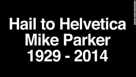 We've all read his work -- 'Godfather' of Helvetica font dies at 84 | Norasack Design | Scoop.it