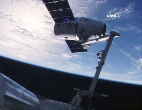 SpaceX Dragon cargo ship delivers DNA sequencer and new door to space station | The NewSpace Daily | Scoop.it