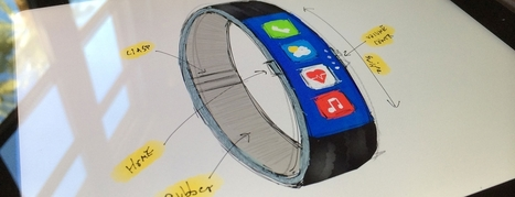 Apple, please use this gorgeous FuelBand-inspired concept design for the iWatch | Aware Entertainment | Scoop.it