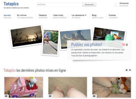 Tatapics - Des photos réalisées par des enfants | Alphabétisation informatique | Scoop.it