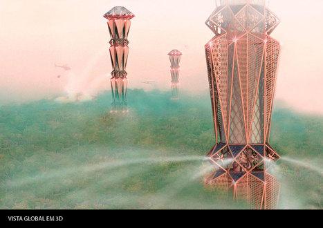 Arquitetos desenvolvem torre para combater fogos na floresta - Notícias de Aveiro | Arquitetura | Scoop.it