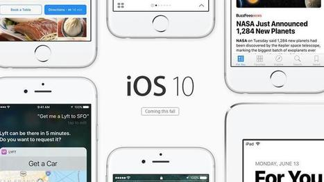 There are over 100 new features in iOS 10 - which is your favourite? | Le paiement de demain | Scoop.it
