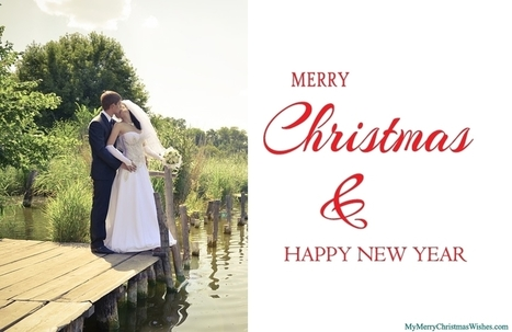 Just Married Christmas Cards, First Newlywed Couples Wishes | Wishes Quotes | Scoop.it