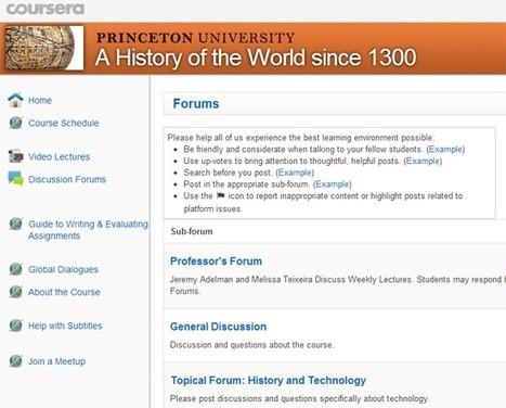 Coursera: La última revolución de la formación online gratuita. | web2.0ensapje | Scoop.it