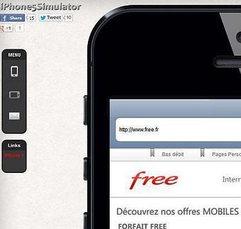iPhone 5 Simulator - Comment ressemble votre site web sur un iPhone 5 ? | DevWeb | Scoop.it
