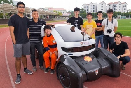 Singapore's first 3D-printed urban electric car and tilting three-wheeler ready to race | smart cities | Scoop.it