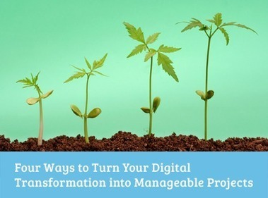 Four Ways to Turn Your Digital Transformation into Manageable Projects | Kathe's Professional Readings | Scoop.it