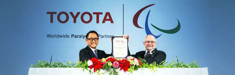 Toyota Signs on as IPC Worldwide Paralympic Partner | Magazine | Scoop.it