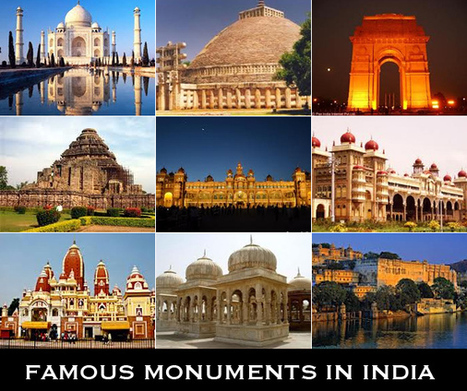 Famous Monuments In India - Spirit Tourism | Fashion and gifts | Scoop.it