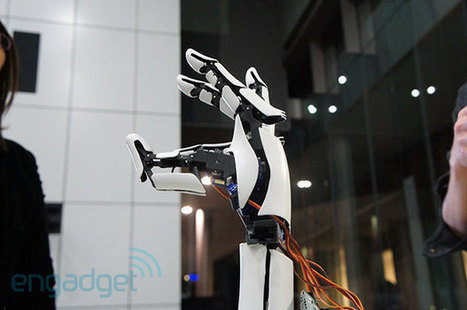 Handie prosthetic uses 3D printing and smartphones for much cheaper bionic hands (video) | New IT use cases | Scoop.it