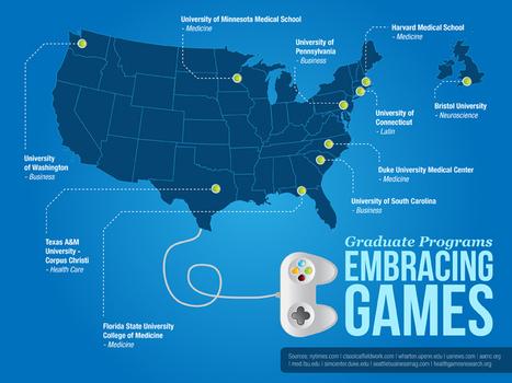 18 Graduate Programs Embracing Games - Online Universities.com | Virtual Worlds and Digital Games Research | Scoop.it