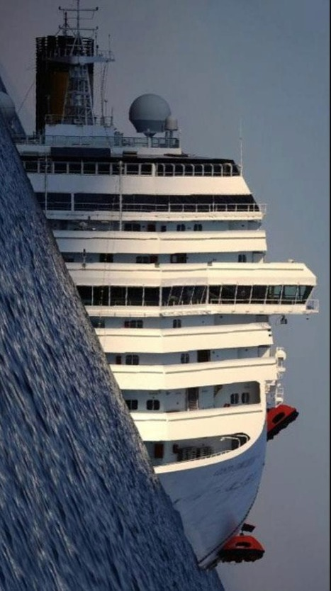 Concordia, it's the sea which was wrong ! | Mind changing pictures | Scoop.it