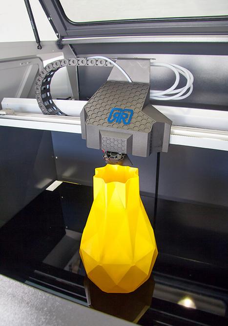 German RepRap releases 2nd version of X1000 large format 3D printer | Heron | Scoop.it