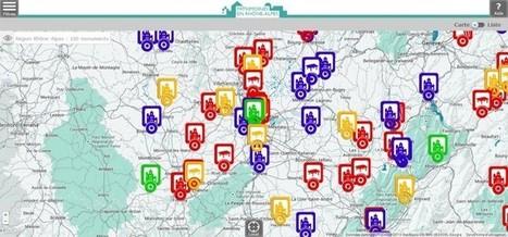 Une web app réalisée par L'AN DIX MILLE pour les 100 principaux monuments historiques de Rhône-Alpes | Culture encore active | Scoop.it