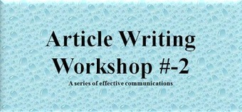 GoldOcean Communications India : Article Writing Etiquette: Focus On Your Article's Summary | Have You Ever Thought To Be An Entrepreneur Without Any Investment? | Scoop.it