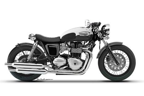 """Triumph Bonneville custom """"No Tail""""   Triumph Classic   Scoop.it"""