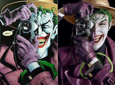 Cosplay : il recréé à la perfection les illustrations du Joker ! | Superheroes & Supervillains | Scoop.it