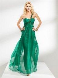 Robe de soirée verte - grande taille - taille personnalisé   fashionrobe   Scoop.it