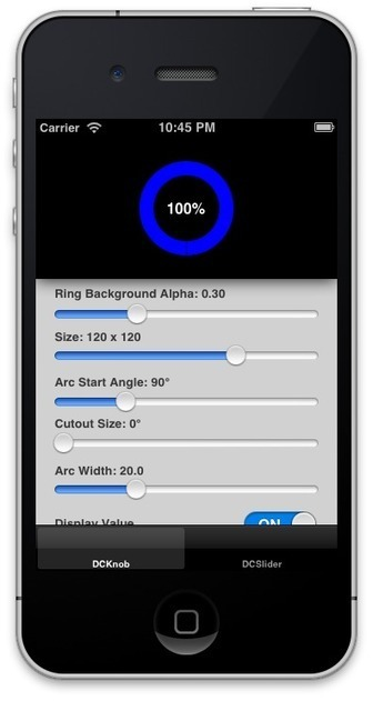 Open Source Libraries For Easily Adding Rotary Knob Controls In Your iOS Apps | iPhone And PHP Dev | Scoop.it