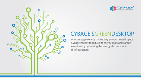 Another step towards minimizing environmental impact. | Cybage IT News | Scoop.it
