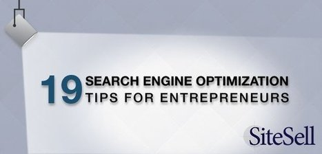 19 Search Engine Optimization Tips for Entrepreneurs | Writing_me | Scoop.it