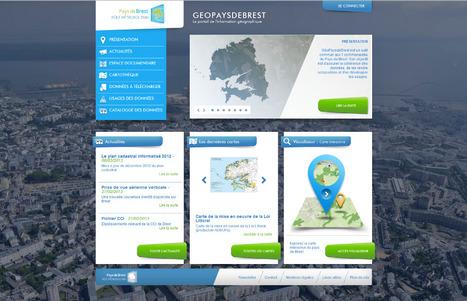 Ouverture de GéoPaysDeBrest : Le portail d'information du pays de Brest | Portail de veille en Géomatique de l'ADEUPa | Scoop.it