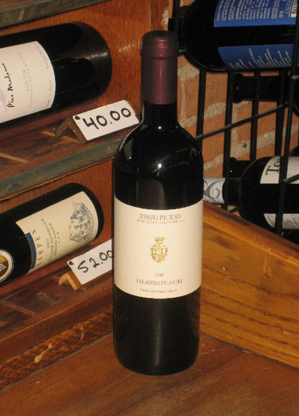 Wine Of The Week US Market: Rosso Piceno 2009 Saladini Pilastri Le Marche | Wines and People | Scoop.it