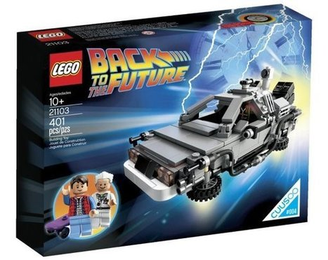 Official LEGO DeLorean Back to the Future Time Machine Building Set Now Available! | All Geeks | Scoop.it