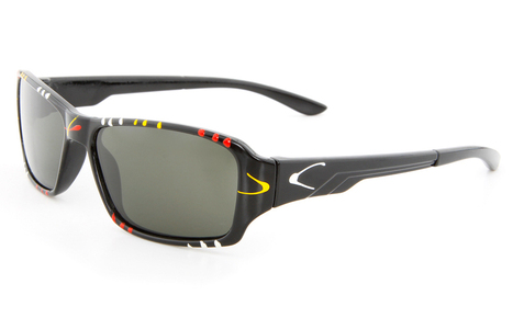 Black Multicolor CH1 Full Rim Oval Glasse | anninobi | Scoop.it