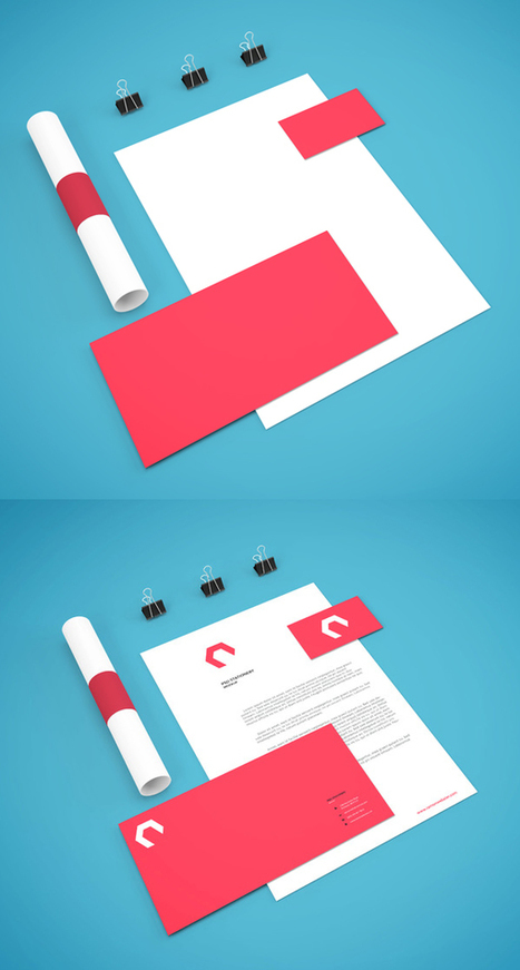 50+ Free Branding / Identity & Stationery PSD Mockups   El Mundo del Diseño Gráfico   Scoop.it